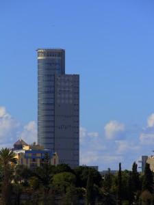 """מגדל """"משה אביב"""" בר""""ג - HDR"""
