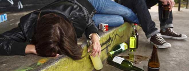 נוער שותה