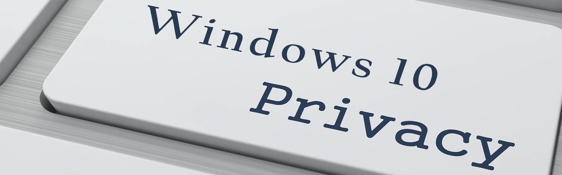 לאן הלכה הפרטיות ב Windows 10?