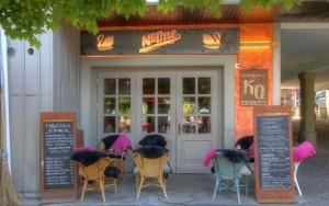 המסעדה ב- Thun מבחוץ